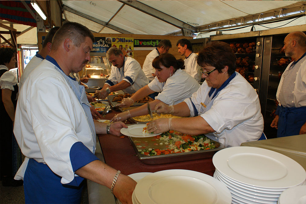Küchenchef Catering